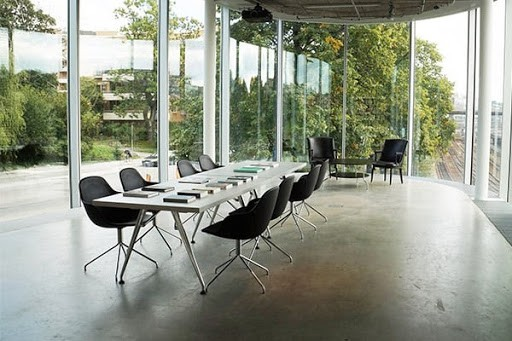 Bright Boardroom Meeting Venue in Stockholm with an Industrial Look