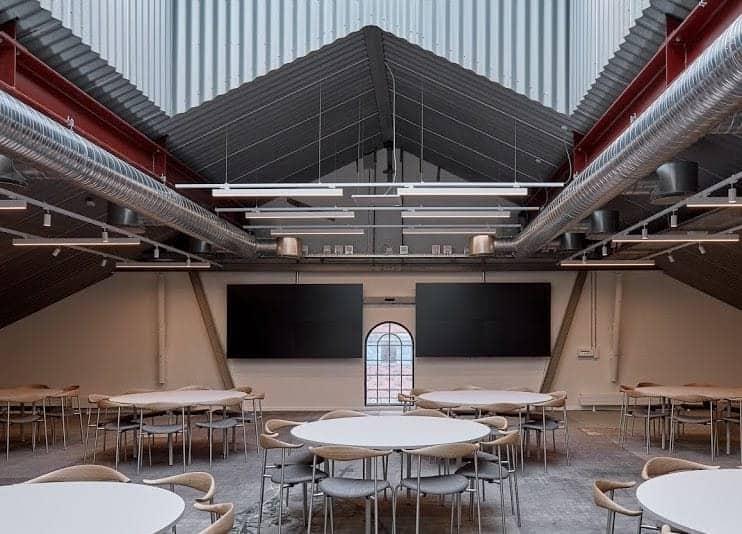 Bright and Industrial Event Venue in Copenhagen