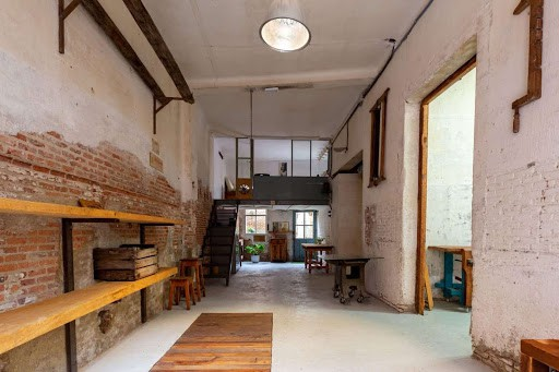 Charming Exhibition Space in Madrid