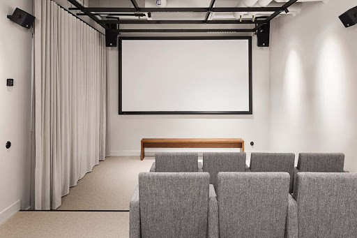 Chic Screening Room for a Conference in Stockholm