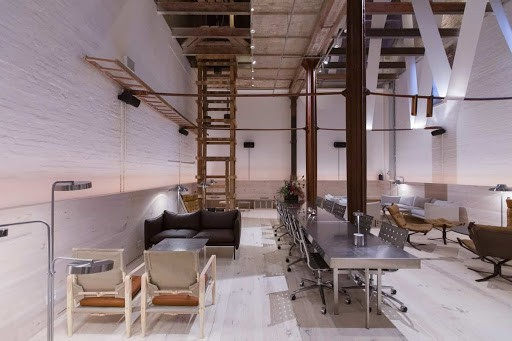 Chic and Industrial Party Space