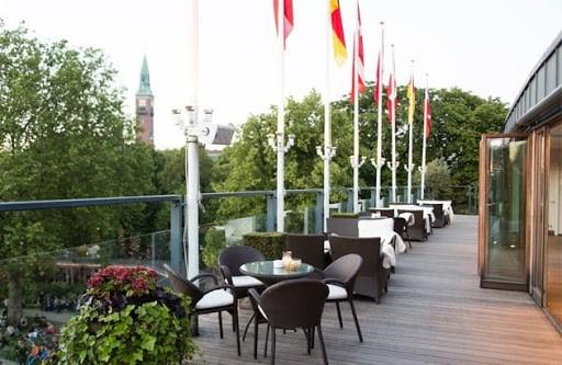 Elegant Lounge with Outdoor Space in Copenhagen