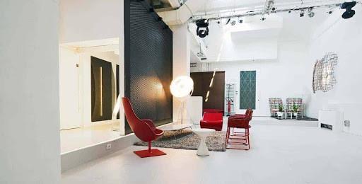 Futuristic Reception Space in Milan