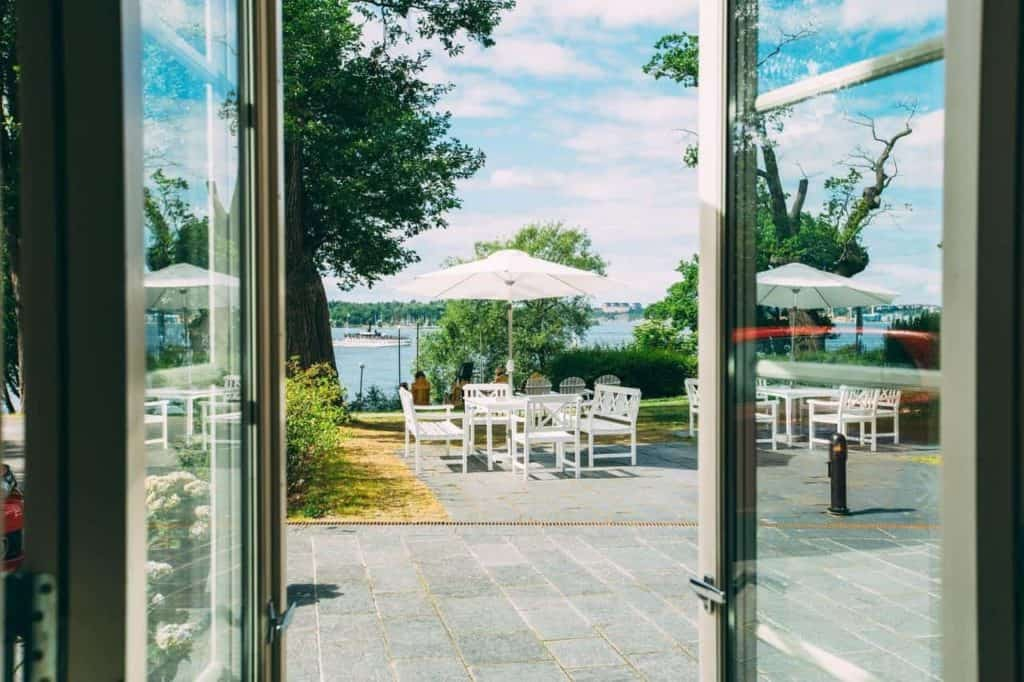 Idyllic Yacht Style Summer Party Venue in Stockholm