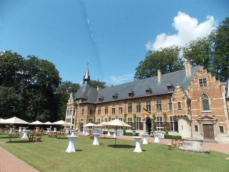 Incredible Castle for a Garden Party in Brussels