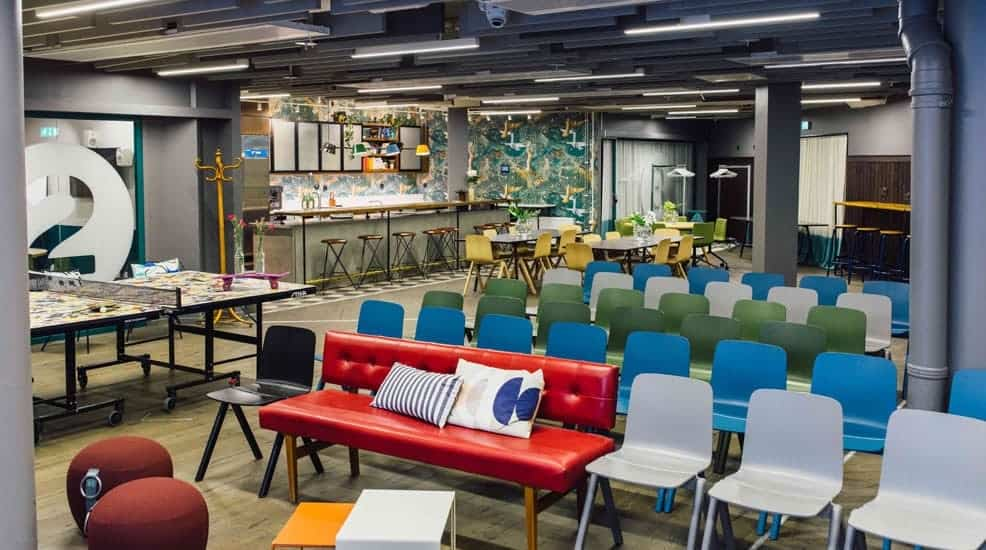 Innovative and Stylish Hackathon Venue for hire in Stockholm