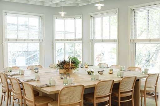Luminous Boardroom Space