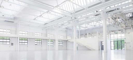 Luminous Venue with Mezzanine