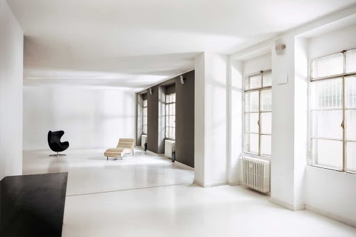 Luminous and Airy Photoshoot venue in Milan