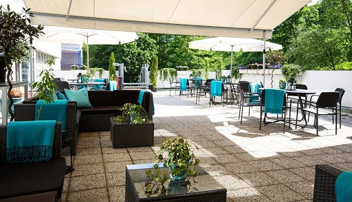 Lush and Green Summer Party Space in Stockholm