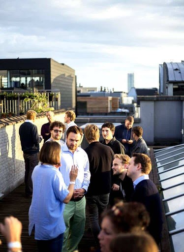Meeting Room with Rooftop Terrace in Brussels
