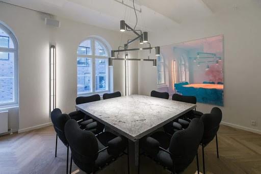 Minimalist Boardroom Venue in Copenhagen