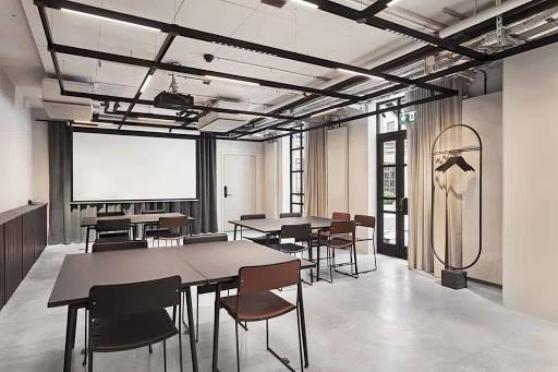 Minimalist Hackathon Space in Stockholm