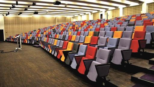 Multicoloured Auditorium in Copenhagen