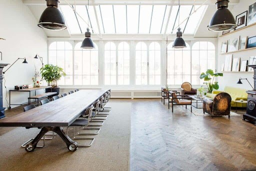 Open Inspiring Boardroom for hire in Amsterdam