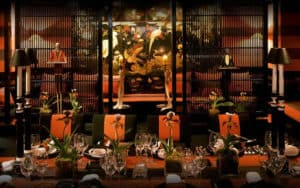 Oriental Inspired Venue with a Mysterious Vibe