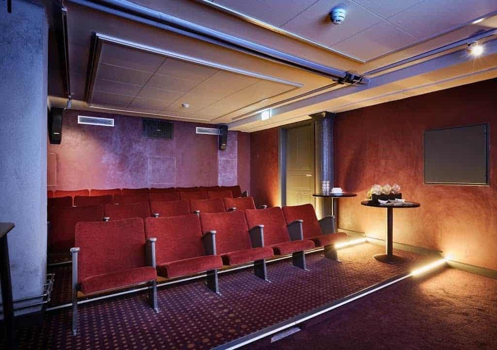 Original Red Auditorium in Copenhagen
