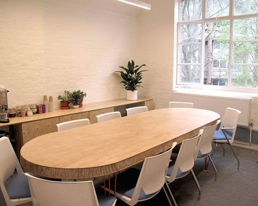 Pleasant Boardroom With a Vibrant Atmosphere