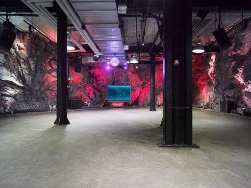 Quirky Cave Exhibition Venue in Stockholm