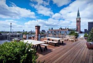 Sky High Summer Party Venue in Copenhagen