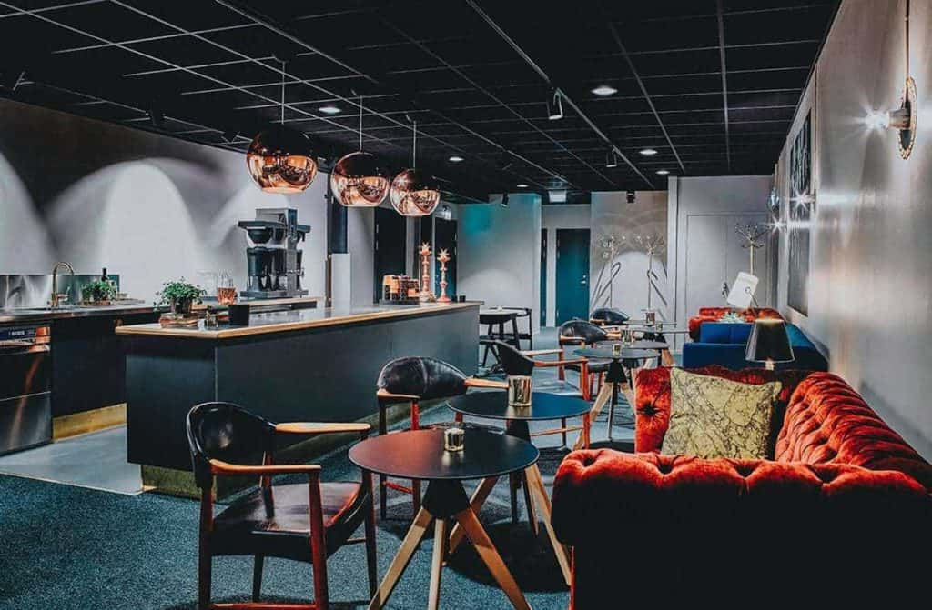 Stylish Cocktail Party Space in Stockholm