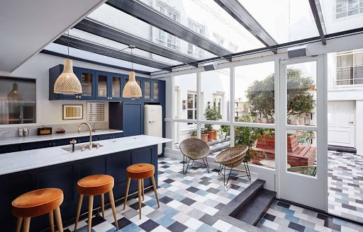 Stylish Kitchen and Event Space in Amsterdam
