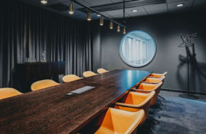 Upbeat and Cozy Brainstorming Space in Stockholm