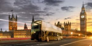 Panoramic bus London