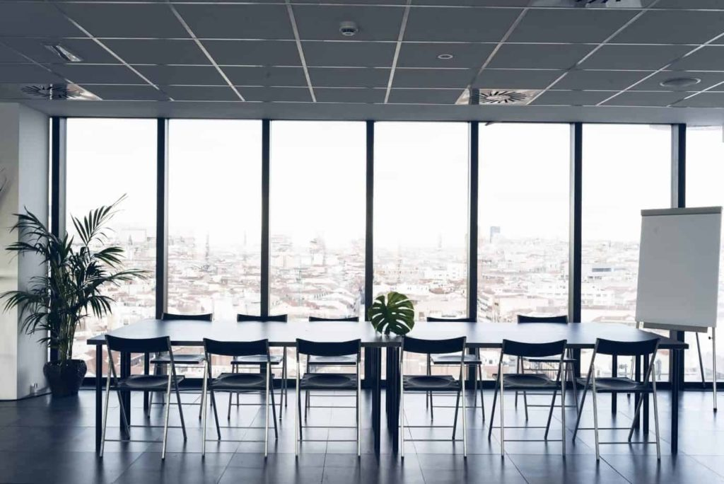 Discussion Space in Madrid with Beautiful Views