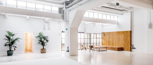 Conference Space in Madrid with Wood Accents