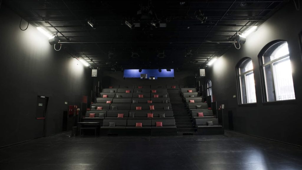 Auditorium in a Former Factory