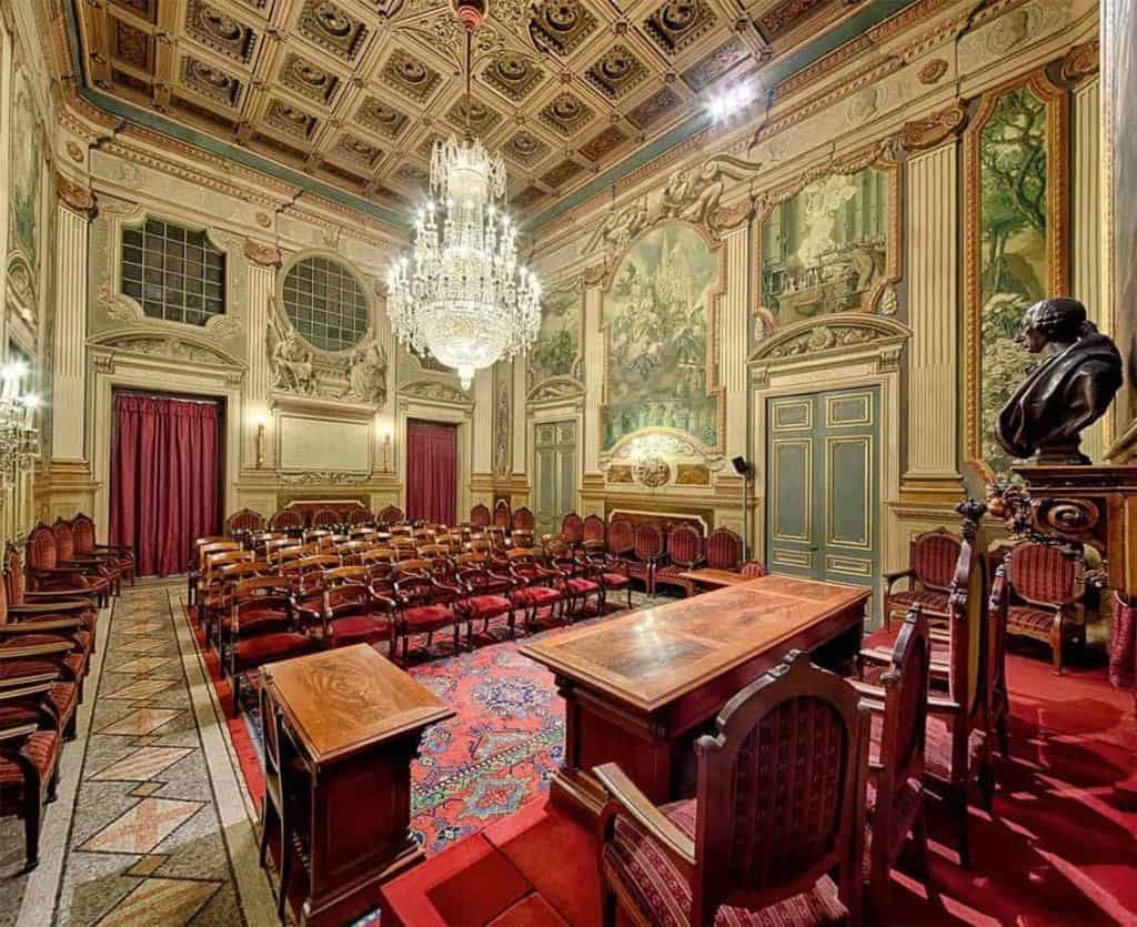 Historical Auditorium in Barcelona