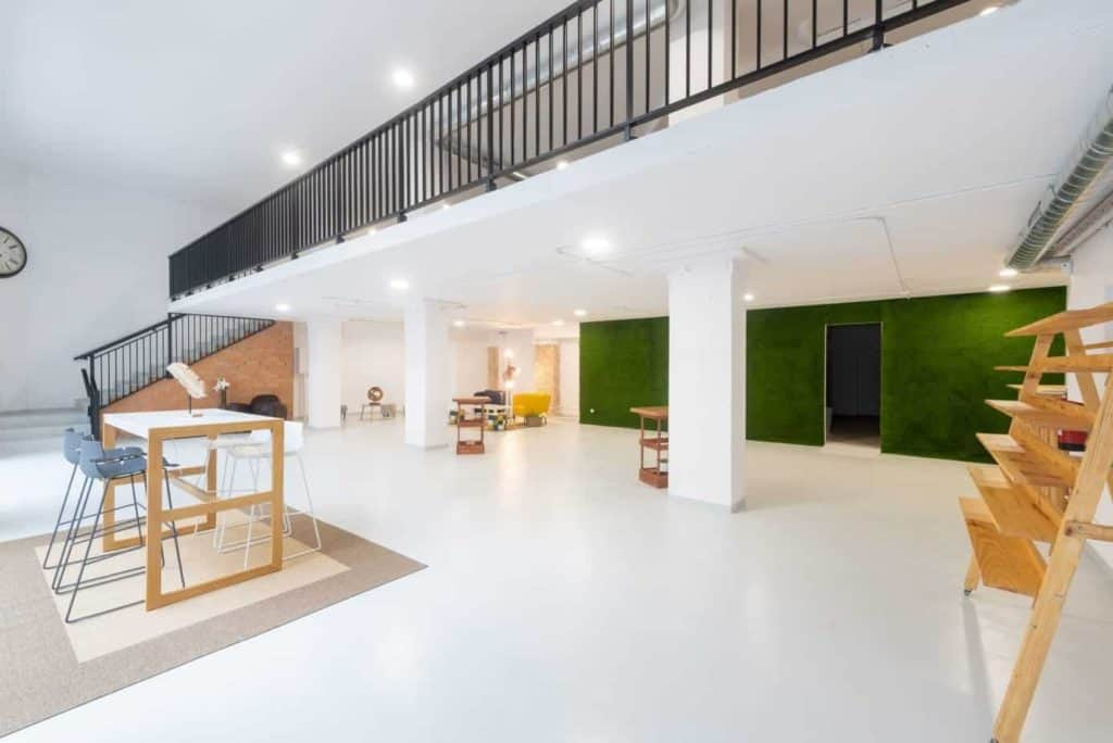 Open Plan Event Space in Barcelona