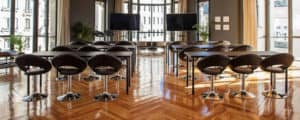 Sophisticated space for a conference in Madrid