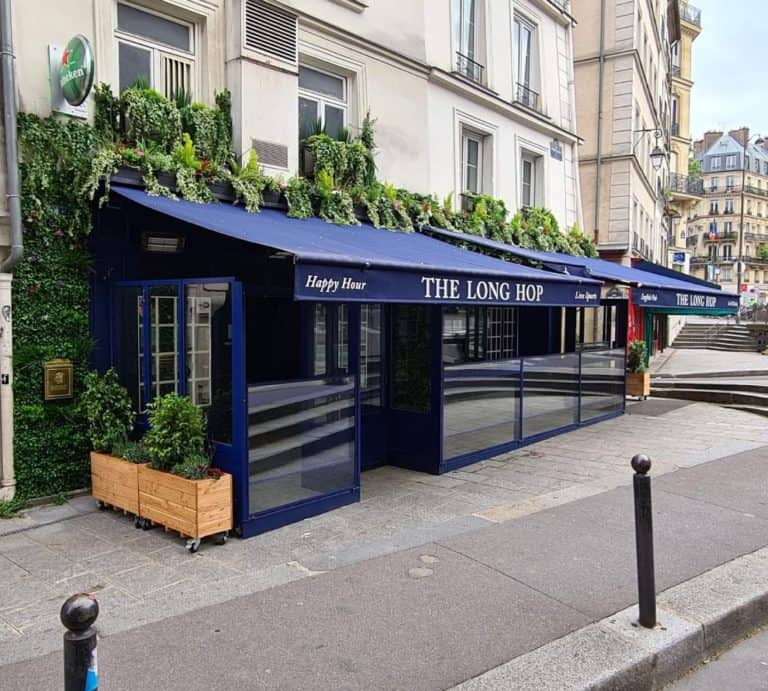 cool bar to watch the euros in Paris