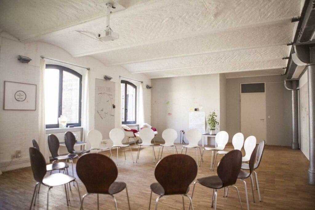 Minimalist white space in the heart of Berlin Kreuzberg