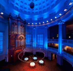Exquisite 17th-century multipurpose event space in Amsterdam. Church with beautiful lighting and open space, ideal for a wide range of events