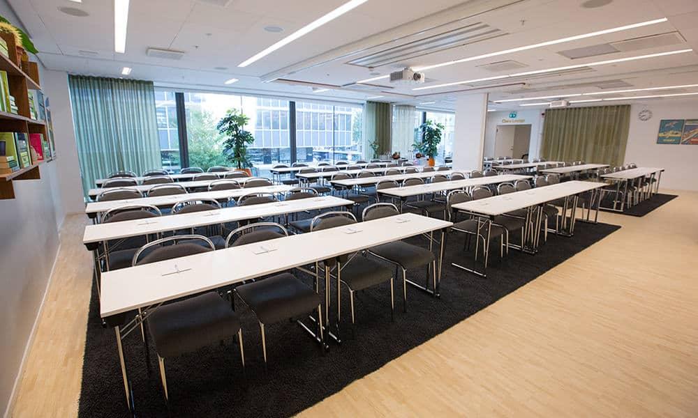 Modern and spacious multipurpose room