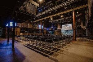 Spacious and rustic venue for receptions, conferences and private dining. Located in a former Warehouse in Westerpark, Amsterdam