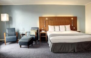 Contemporary hotel with a trendy design in London. Accommodation for business trips.